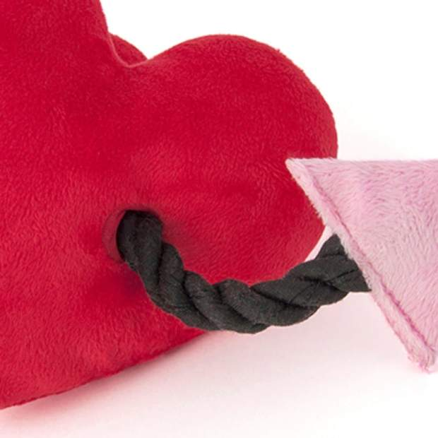 Puppy Love Collection - Fur-Ever Heart Dog Toy