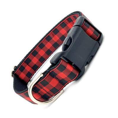 Dog Collars - Buffalo Plaid Dog Collar