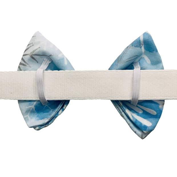 Dog Collars - Winter Snowflake Pet Bow Tie