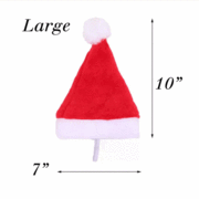 Pet Lifestyle - Christmas Holiday Pet Santa Hat