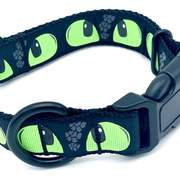 Monster Eyes Dog Collar