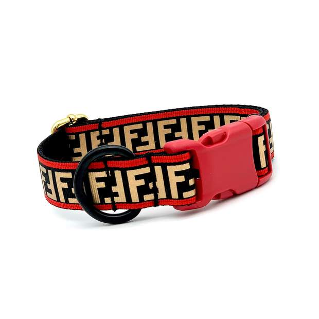 Red FURendi Dog Collar