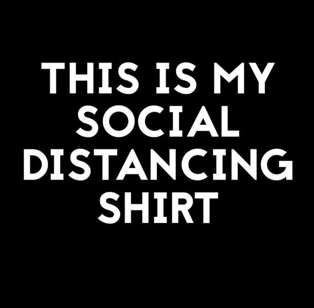 Pet Shirts - This Is My Social Distancing Dog Shirt